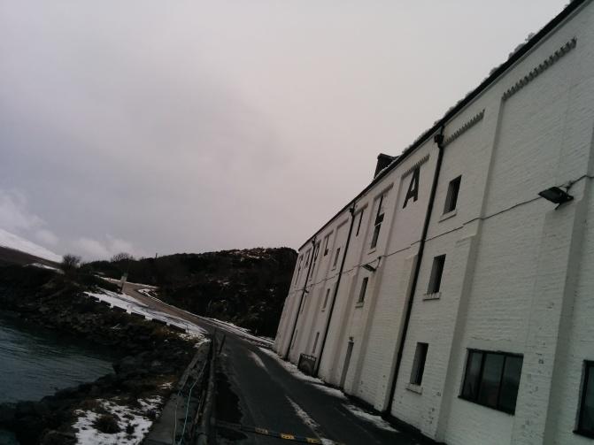 Caol Ila distillery.