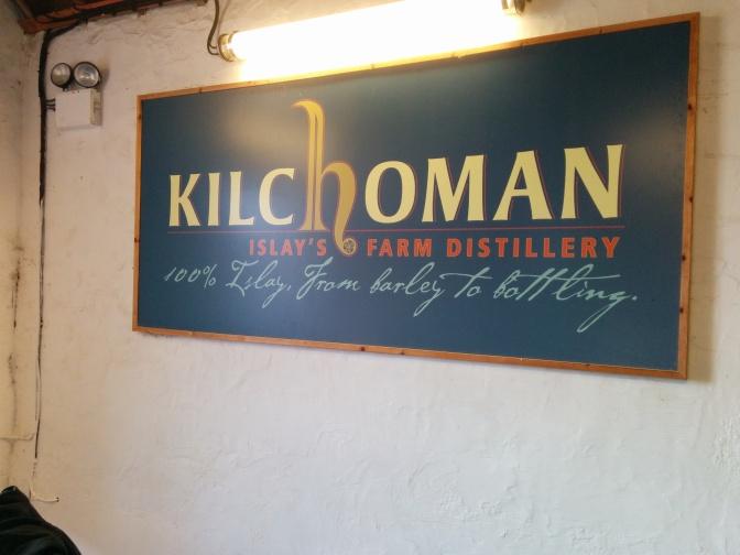 Kilchoman distillery.