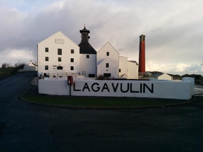 Lagavulin distillery.