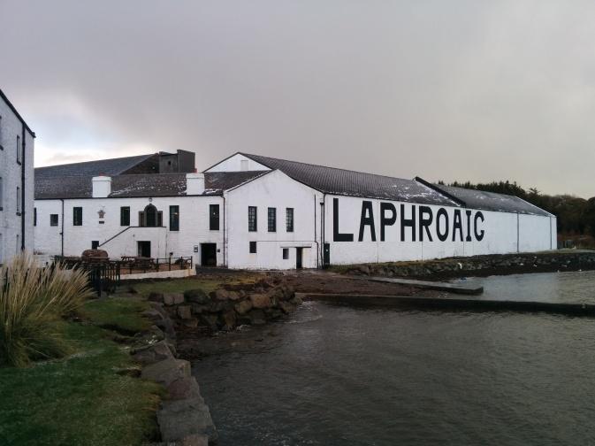 Laphroaig distillery.