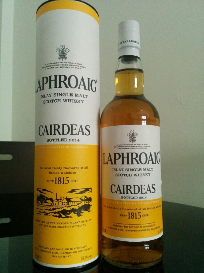 Laphroaig Cairdeas 2014 (Feis Ile 2014 bottling)