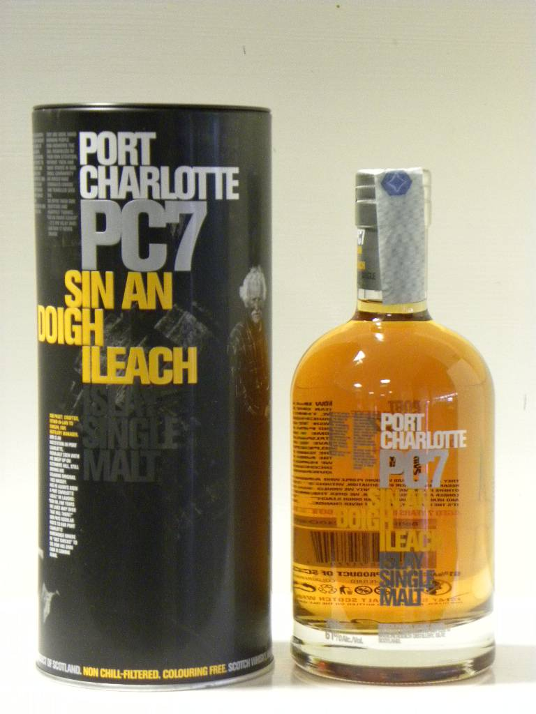 Port Charlotte PC 7 - Part of the peated offerings from Bruichladdich.