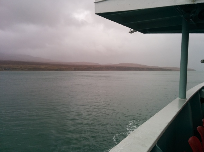 We did catch a glimpse of Jura on the way to Islay though!