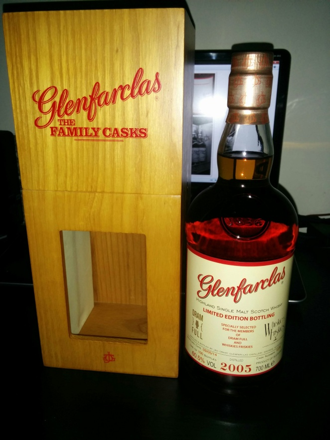 Glenfarclas Family Casks 2005 (Exclusive to Dram Full Singapore & Whiskies Friskies/Society of Whisky members)