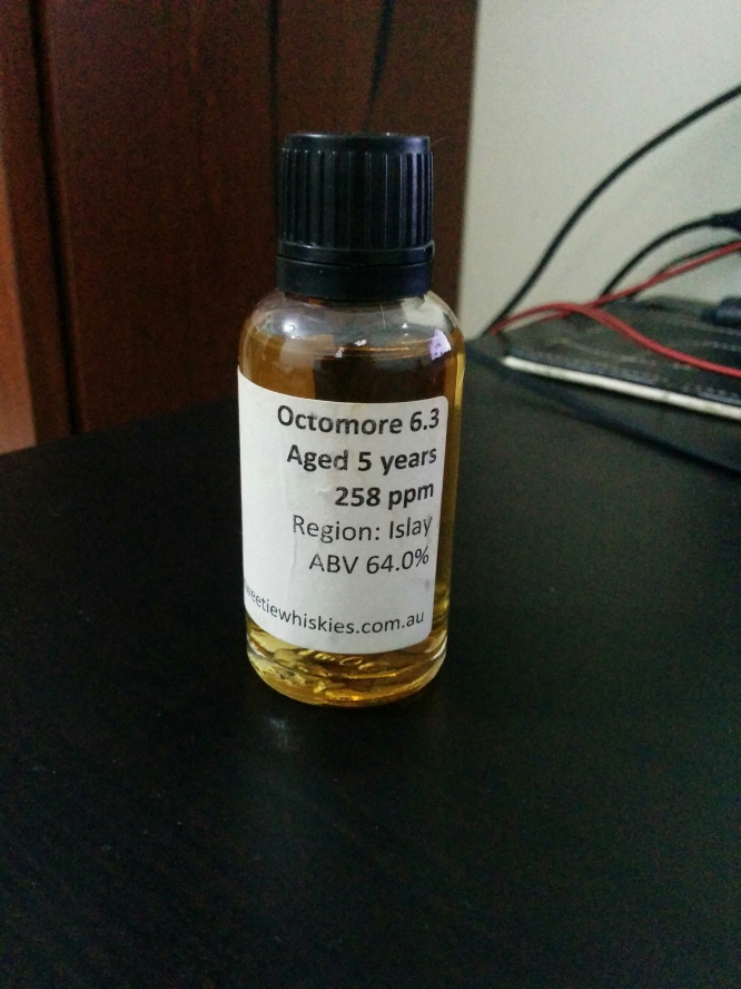 Bruichladdich Octomore 6.3 (258ppm phenol)