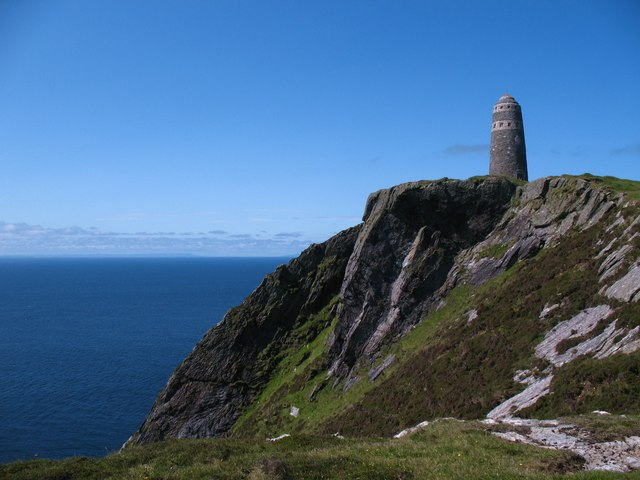 The American monument on the Mull of Oa.