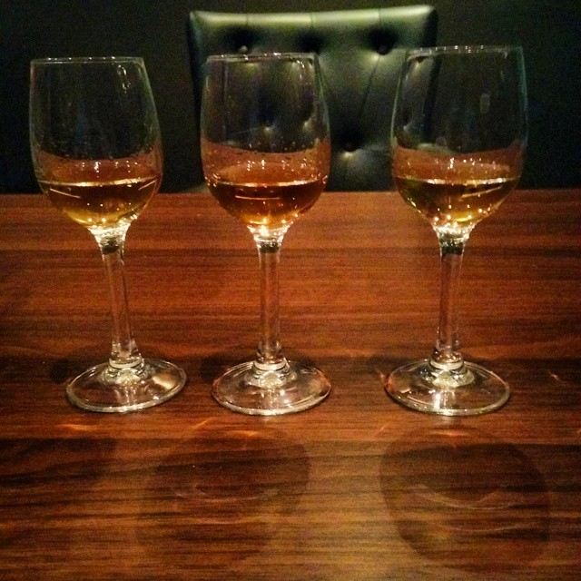From left: Arran 15th Anniversary bottling, Bruichladdich Infinity 3rd Edition & Glenkinchie Distiller's Edition