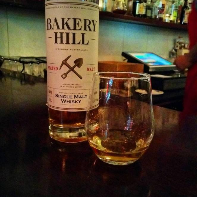 Bakery Hill Peated Malt, bottled at 46% abv.