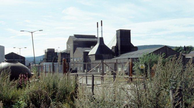 Caperdonich distillery.