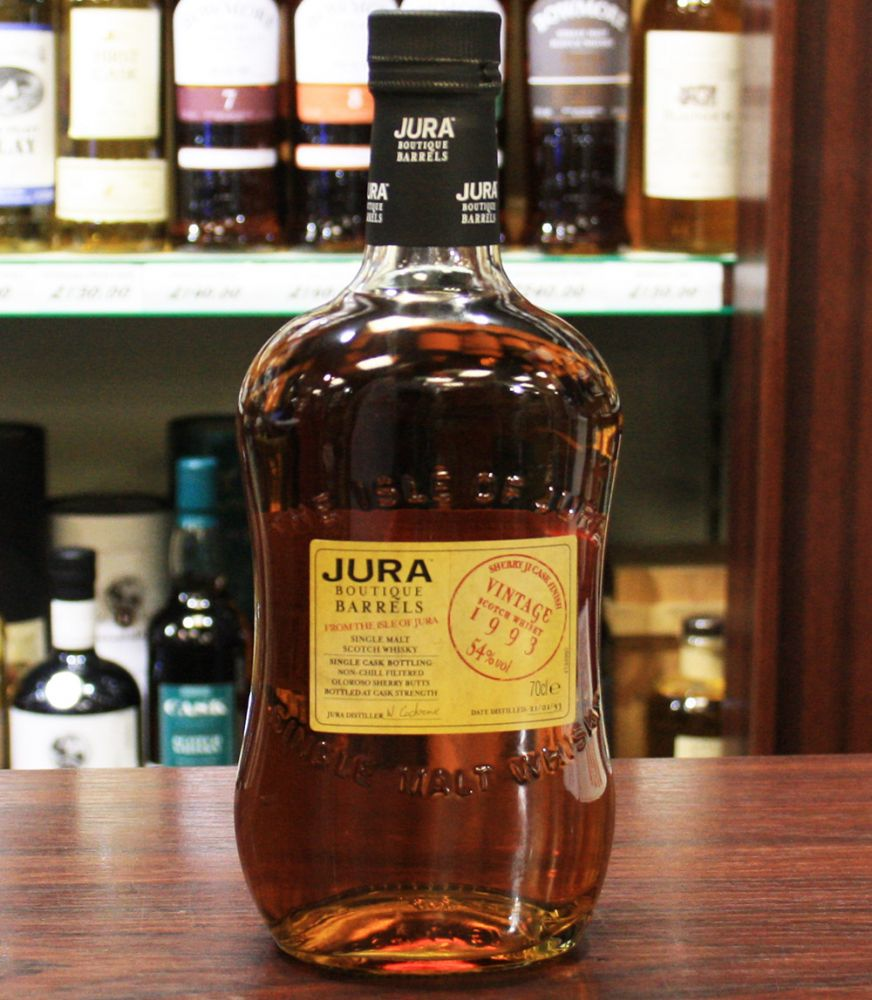 Isle of Jura 1993 Sherry 'Ji' Cask.