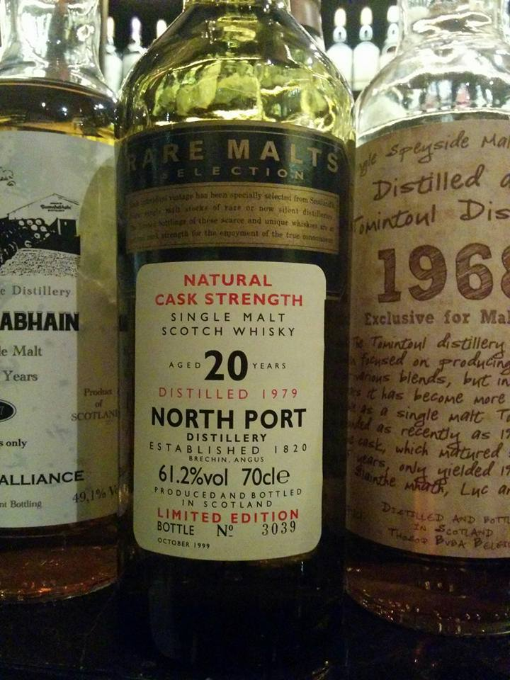 North Port (Brechin) 20 Years Old Rare Malts Bottle