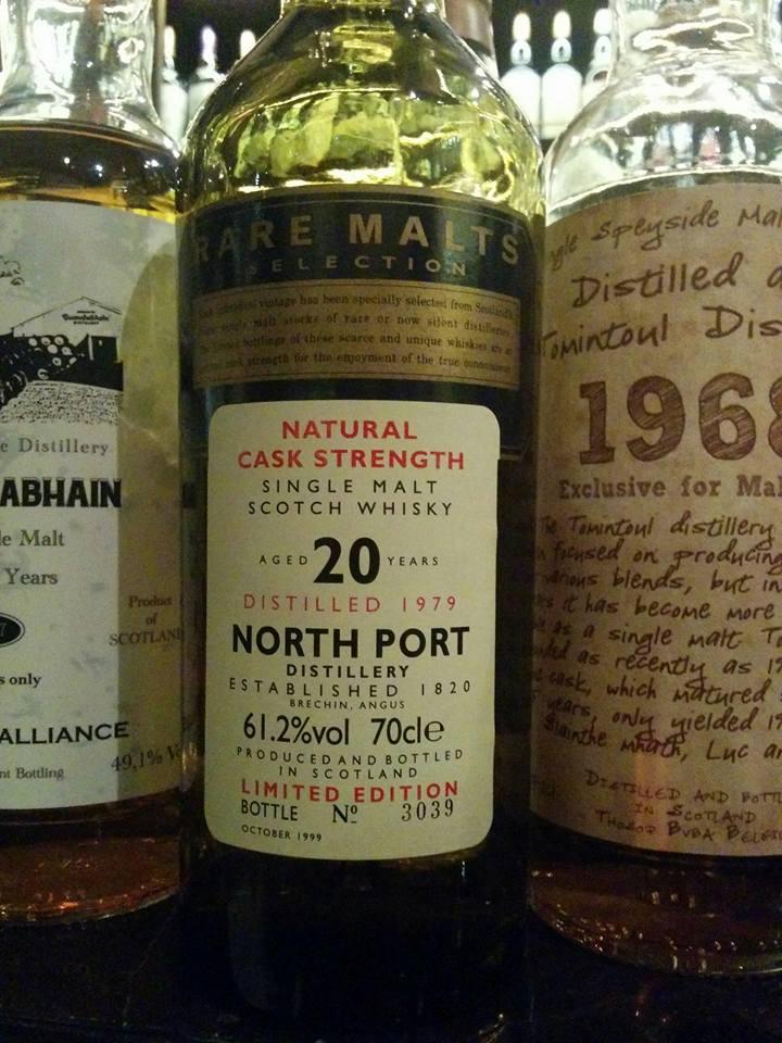North Port (Brechin) 20 Years Old Rare Malts Bottle
