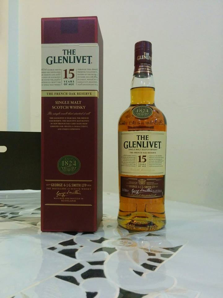 The Glenlivet 15 Years Old - French Oak Reserve