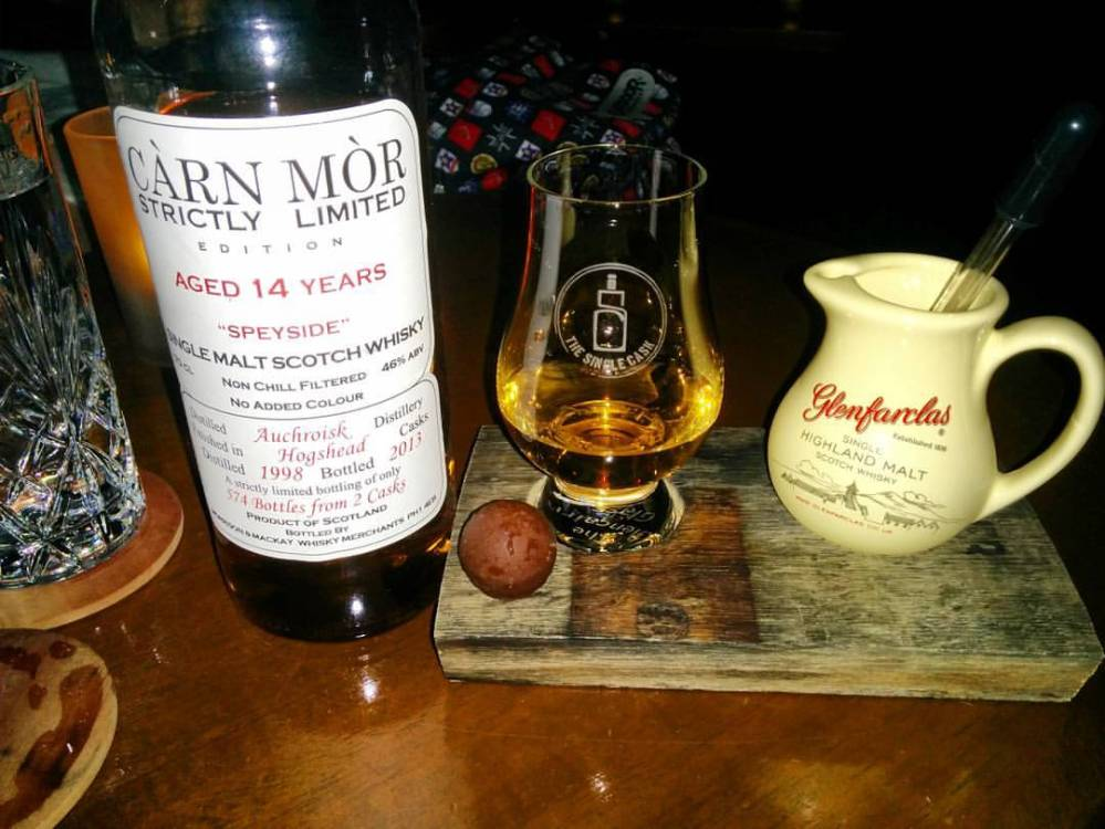 Auchroisk 1998 14 Years Old (Carn Mor Bottling)