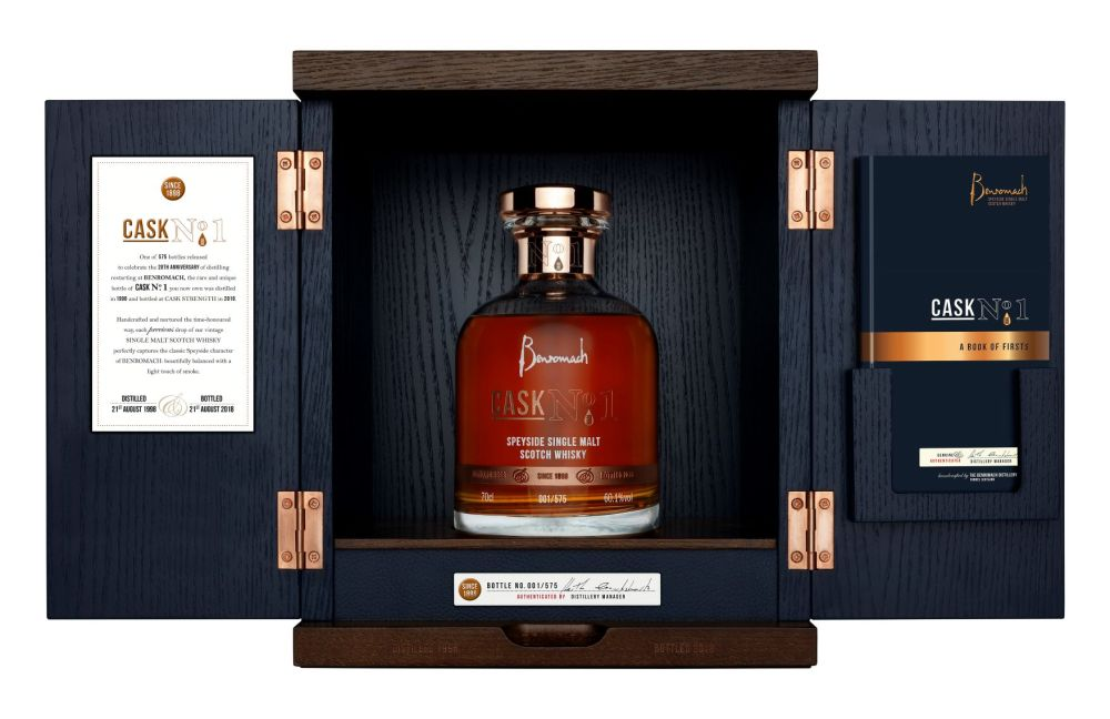 Cask 1 in box plus book - reduced